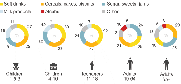 Source: National diet and nutrition survey , rolling programme 2008-2012