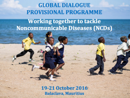 Watch and engage in the Global Dialogue Meeting on the role of non-State actors in government-led NCD responses