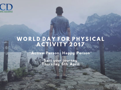 "World Day for Physical Activity 2017 – ""Active Person, Happy Person"""